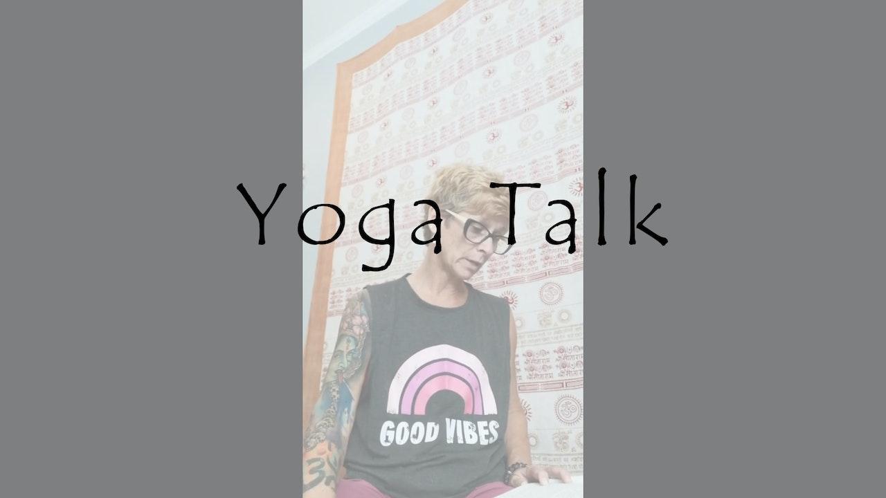 Yoga Talk