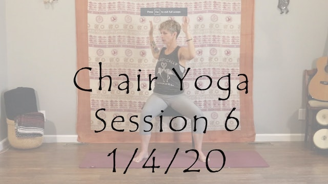 Chair Yoga Session 6