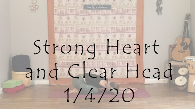 Strong Heart and Clear Head – Beginner & Level 1/2