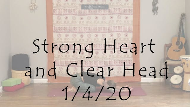 Strong Heart and Clear Head – Beginne...