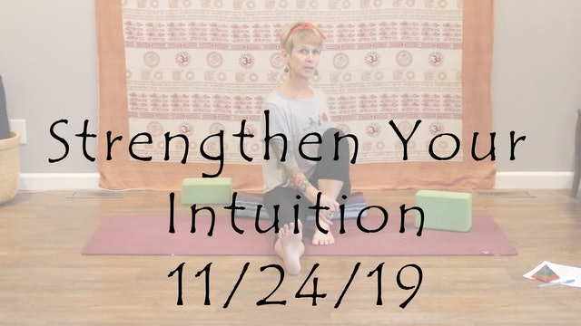 Strengthen Your Intuition (Yin Yoga)