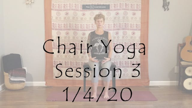 Chair Session 3 - All Level