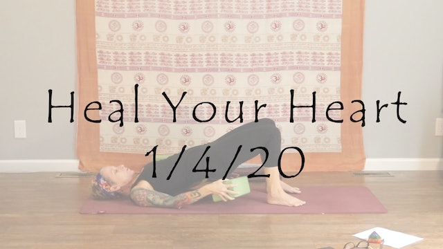Heal Your Heart – All Level Yin