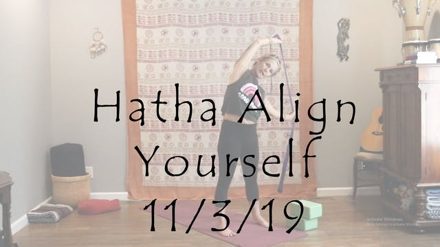 Hatha Align Yourself – Gentle/Beginner