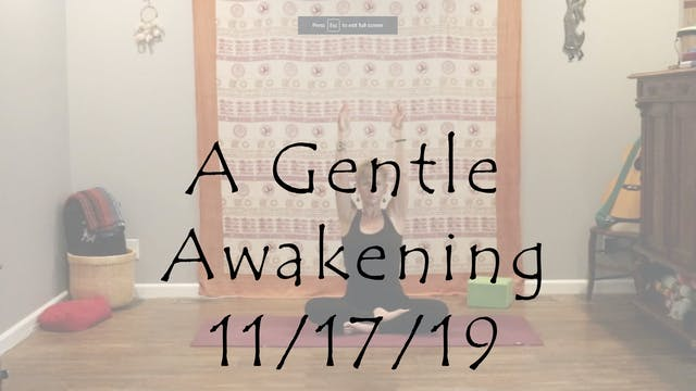 Hatha – A Gentle Awakening All Levels