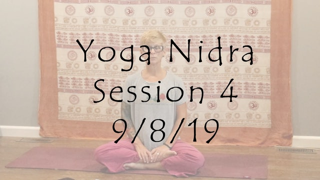 Yoga Nidra Session #4