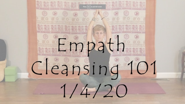Empath Cleansing 101 – All Level