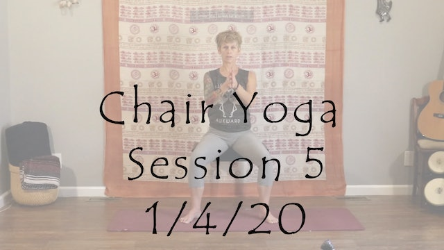 Chair Yoga Session 5