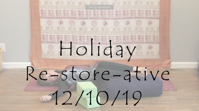 Holiday Re-store-ative