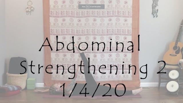 Abdominal Strengthening 2 – All Level