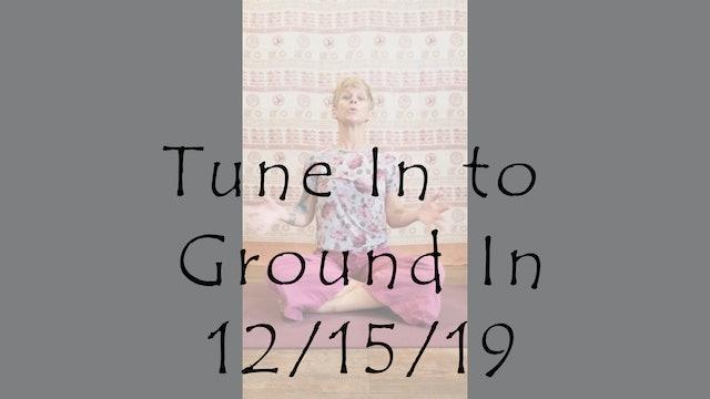 Tune In to Ground In  (Yoga Nidra)