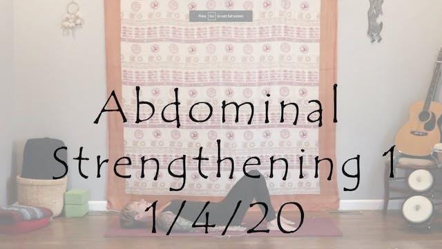 Abdominal Strengthening 1 - All Level