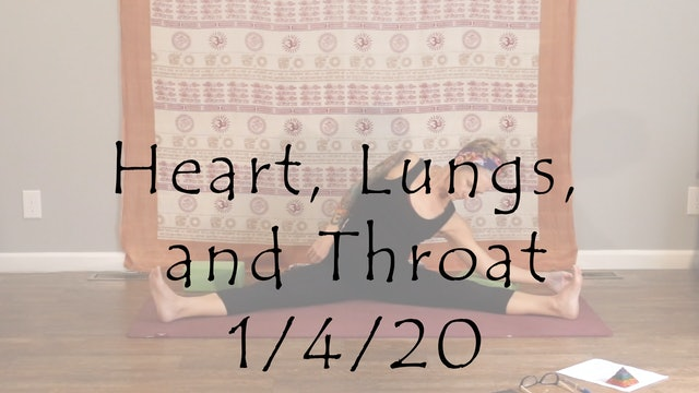 Heart, Lungs, and Throat Yin - Level 1/2