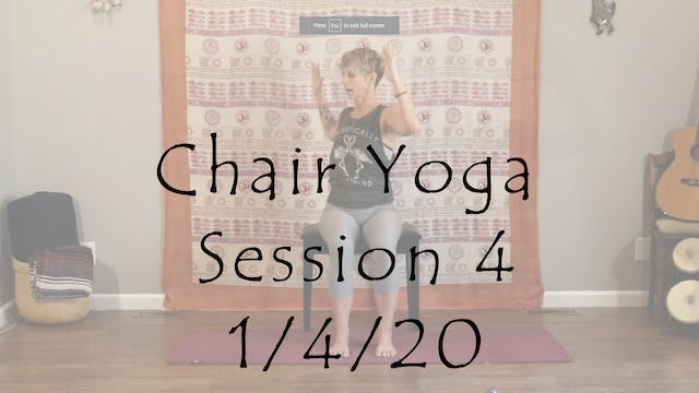 Chair Session 4 - All Level