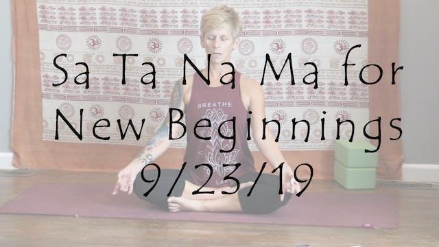 Meditation Sa Ta Na Ma for New Beginn...