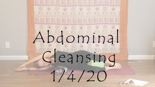 Abdominal Cleansing – All Level Yin