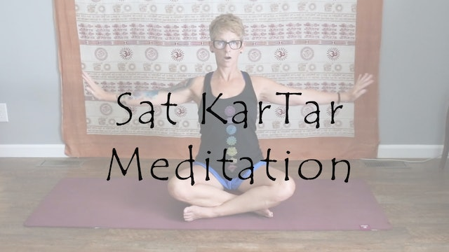 Open Your Heart with the Sat KarTar Meditation