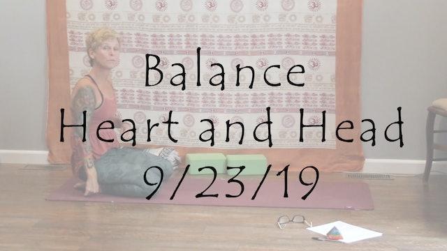 Yin to Balance Heart and Head