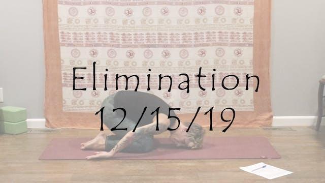 Elimination – All Level (kundalini)