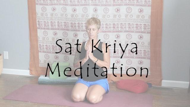 Sat Kriya Meditation - Stimulating and Balancing Energy