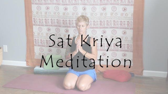 Sat Kriya Meditation - Stimulating an...
