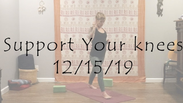 Support Your knees – All Level (Hatha)
