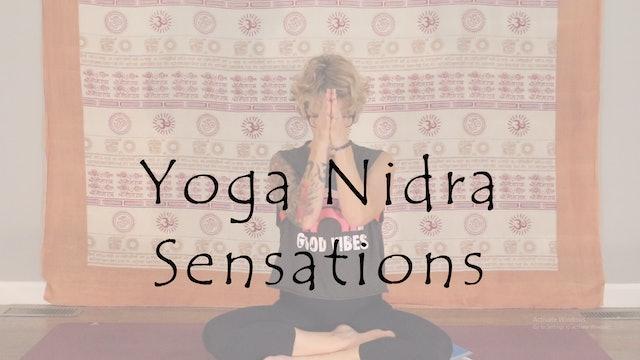 Yoga Nidra Sensations