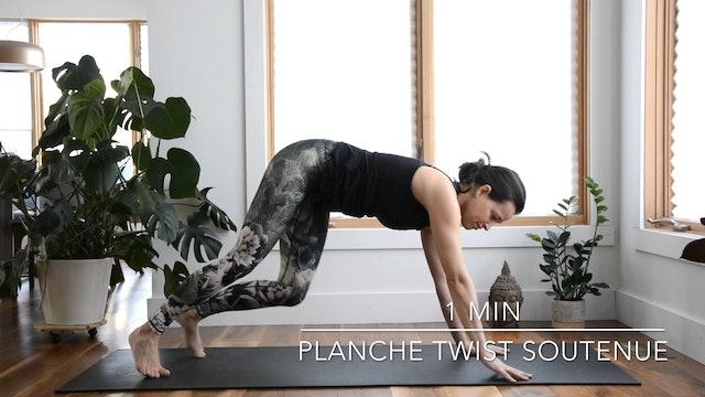 PLANCHE TWIST SOUTENUE