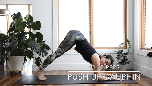 PUSH UP DAUPHIN