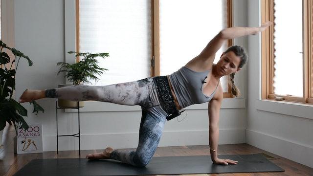 JOUR 7 - Obliques Crunches - Forearm plank