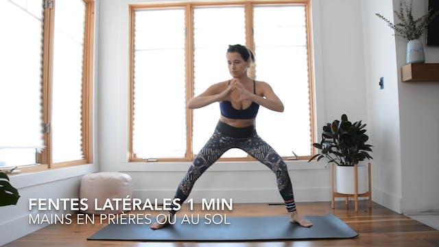 FENTES LATÉRALES 1 MIN