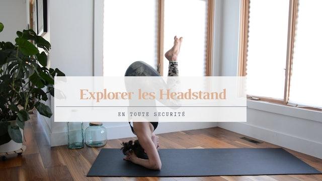 Headstand / équilibre sur la tête de façon sécuritaire