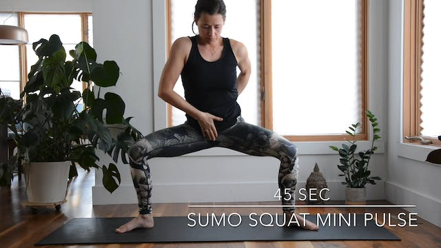 SUMO SQUAT MINI PULSE