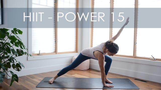 HIIT - POWER 15