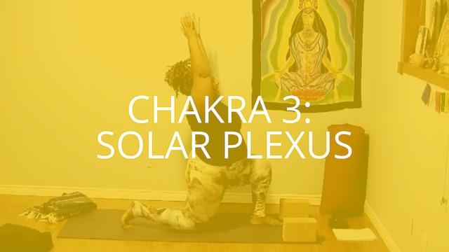 Chakra 3: Solar Plexus