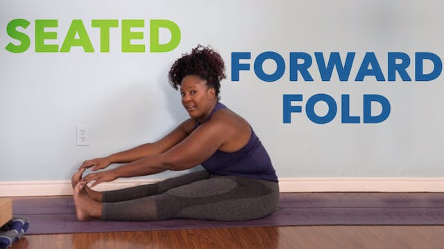 Seated Forward Fold / Paschimottanasana