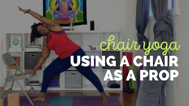 Chair Yoga: Using a Chair as a Yoga Prop