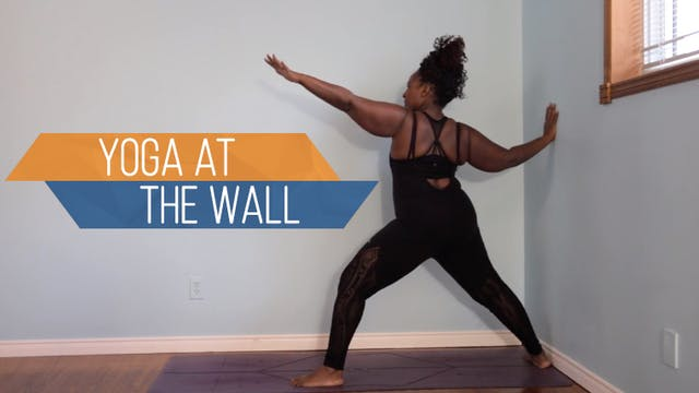 Yoga at the Wall