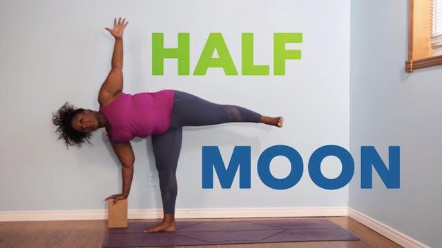 Half Moon Pose / Ardha Chandrasana