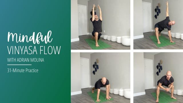 Mindful Vinyasa Flow with Adrian Molina