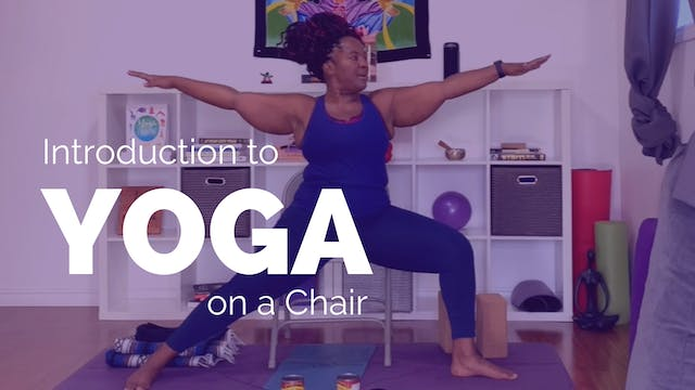 Introduction to Yoga on a Chair