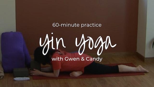 Yin Yoga with Gwen & Candy