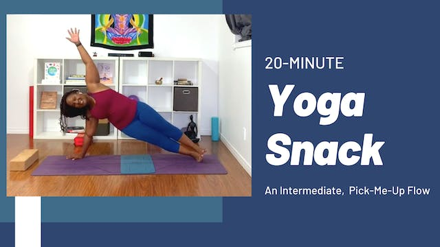 Yoga Snack: An Intermediate Pick-Me-U...