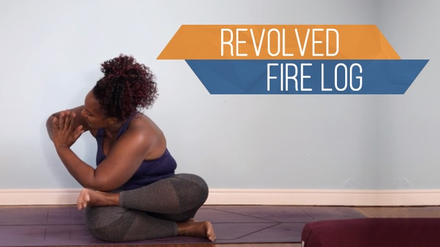 Revolved Fire Log/ Parivrtta Agnistambhasana