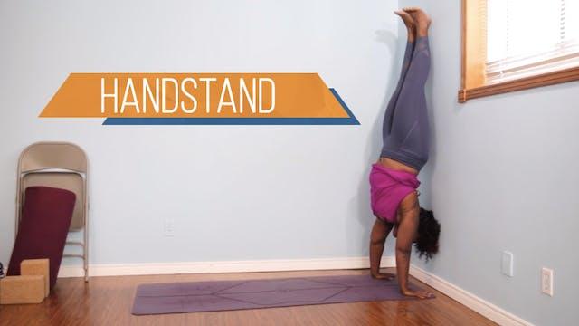 Handstand / Adho Mukha Vrksasana