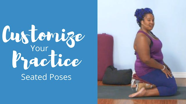 Customize Your Practice: Seated Poses
