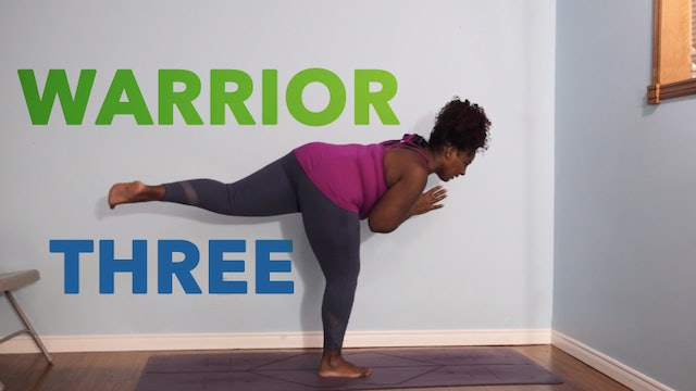 Warrior 3 / Virabhadrasana 3