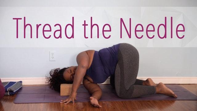 Thread the Needle / Parsva Balasana
