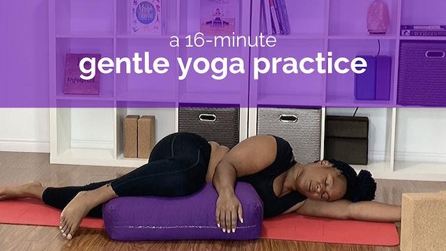 16-Minute Gentle Yoga Practice