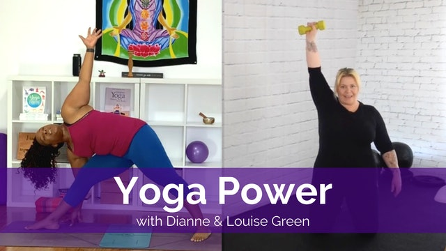 Yoga Power with Louise and Dianne
